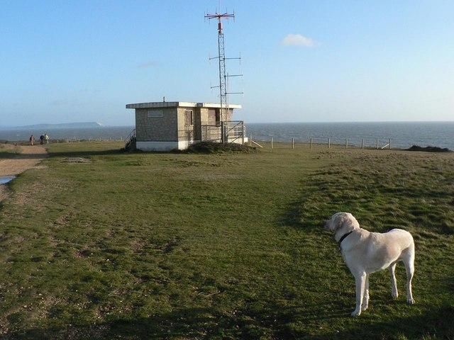 Hengistbury Head: coastguard lookout
