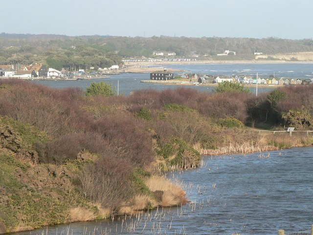 Mudeford: The Run from Hengistbury Head