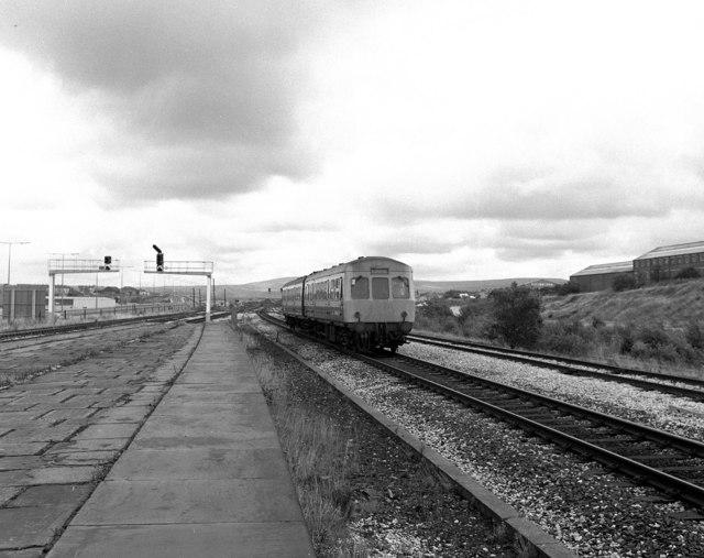 Rose Grove station, Lancashire