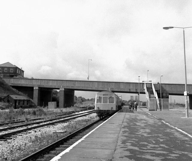 Rose Grove station, Lancashire (2)