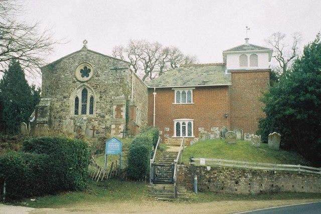 Bramshaw: parish church of St. Peter
