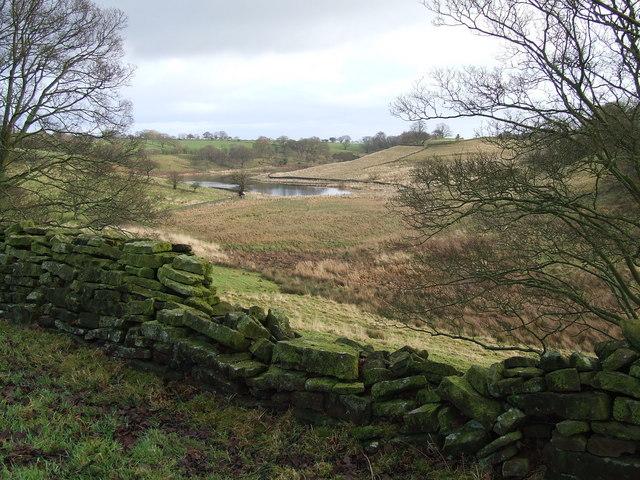 Western end of John O'Gaunt's Reservoir