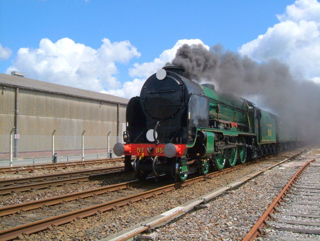 Maunsell Locomotive No.30850 'Lord Nelson'.