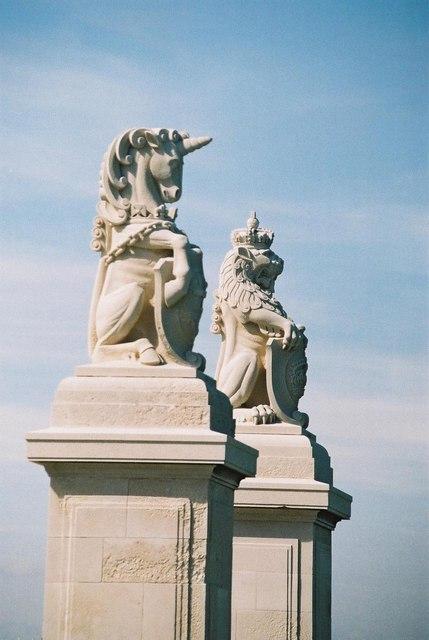 Southsea: lion and unicorn