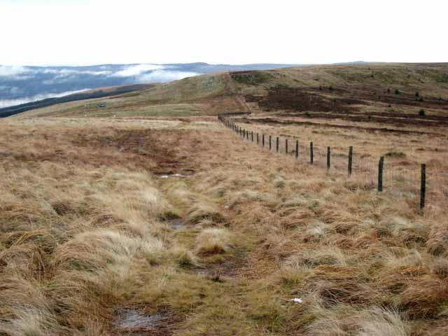 Pennine Way, looking back towards Windy Crag