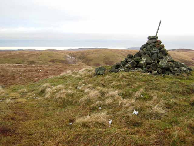 Cairn on Ravens Pike