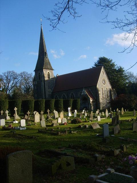 St Paul's Church, Bentley Common