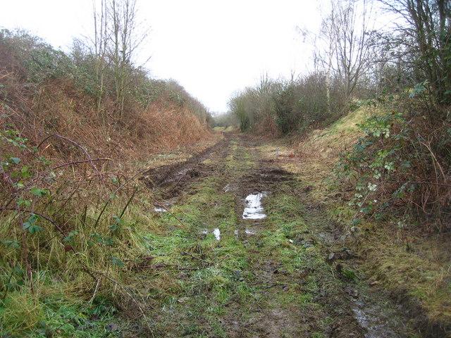 Route of former Varsity Line