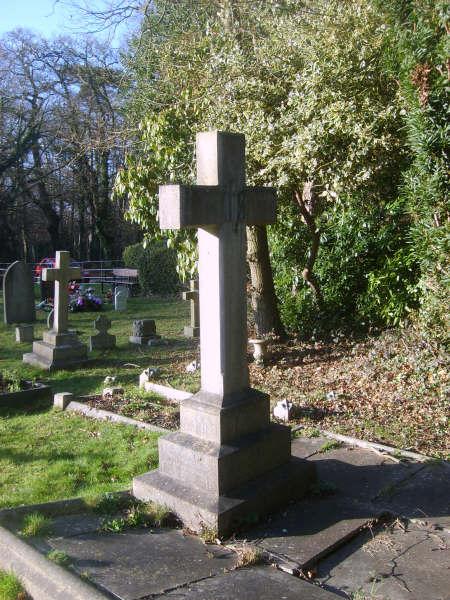 Thomas Brown memorial cross