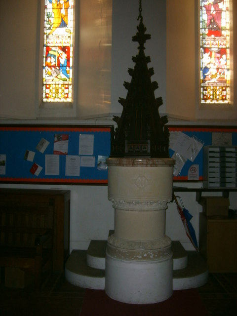 Font  at St Paul's, Bentley Common