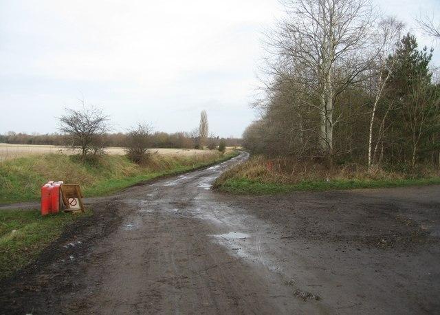Track crossroads
