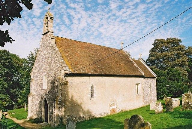 Boarhunt: parish church of St. Nicholas