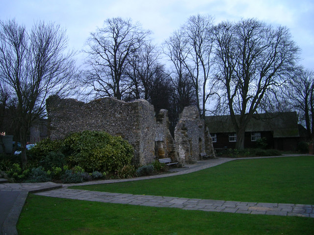 Remains of Dominican Friary