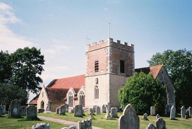 Boldre: parish church of St. John the Baptist