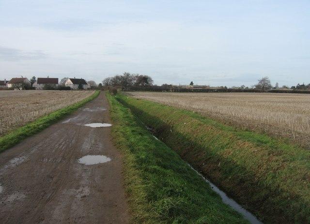Clay Farm track
