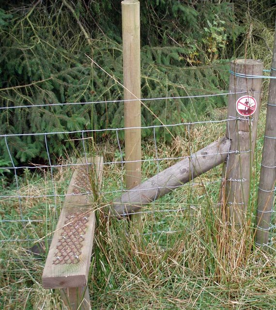Boundary stile and sign