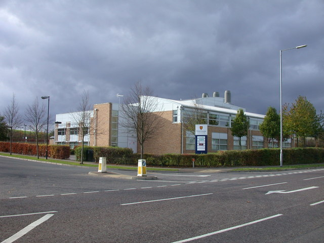 Entrance to Peterhouse Technology Park