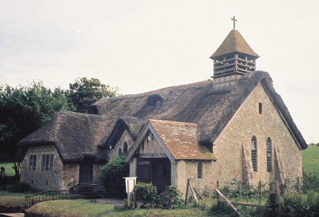 Freshwater: church of St. Agnes