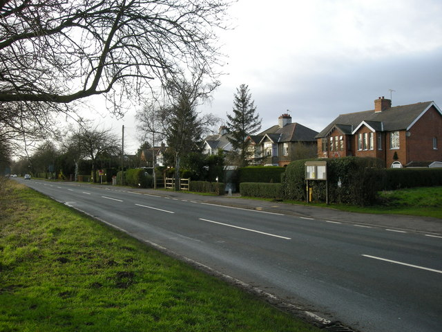 The old part of Cawston