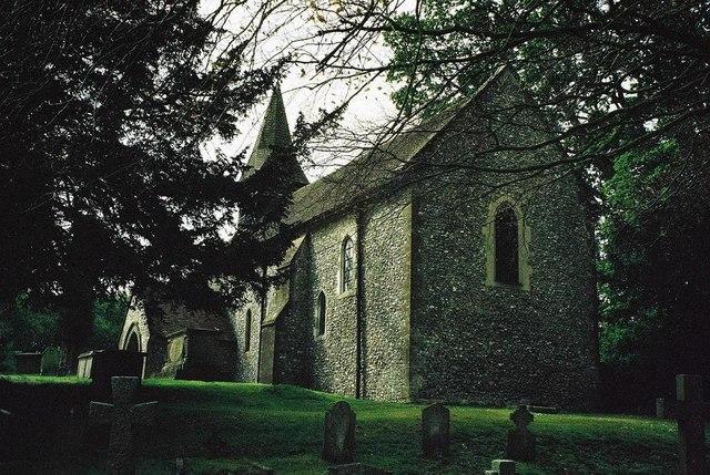 Litchfield: parish church of St. James the Less