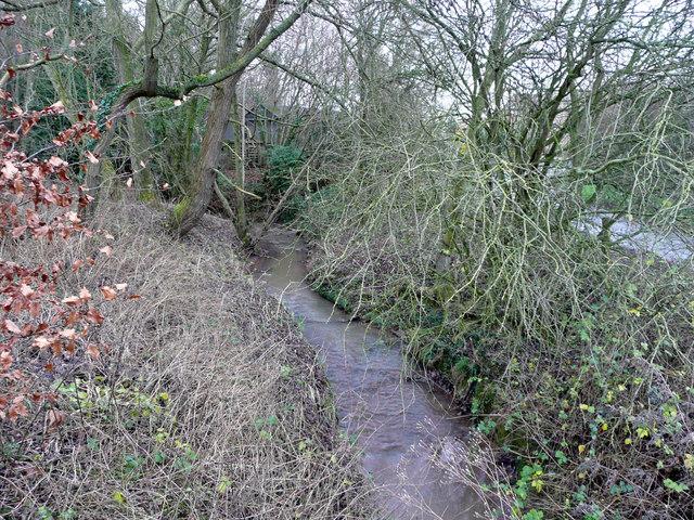 Brook near Welsh Court