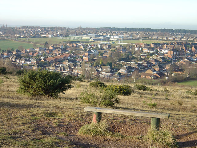 New Clipstone looking north west