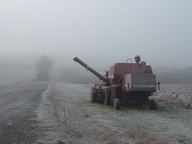 Frozen harvester