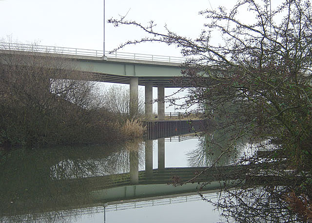 Selby by-pass bridge over the Selby Canal