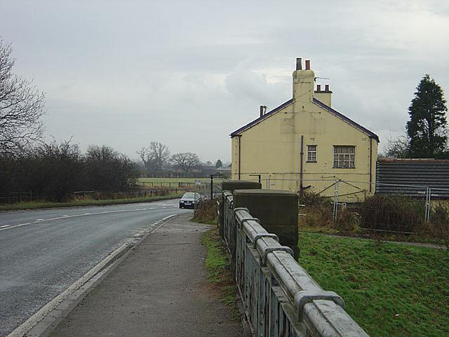 Former pub at Burn Bridge