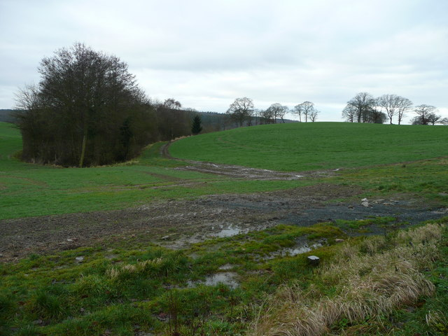View south of Canwood Farm