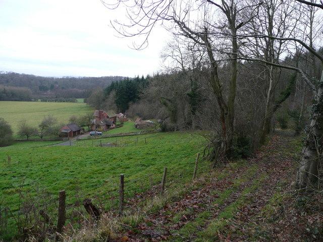 Rural scene near Woolhope Cockshoot