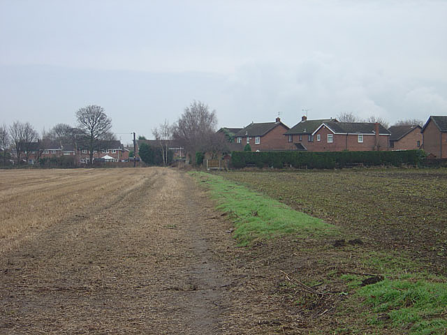 Footpath at Brayton
