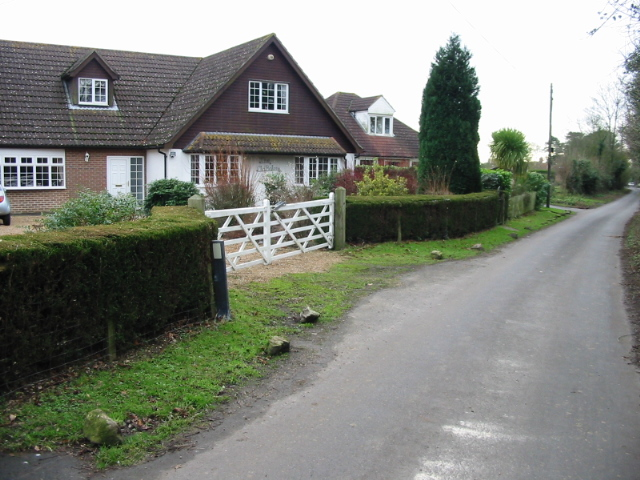 Houses on Southenay Lane