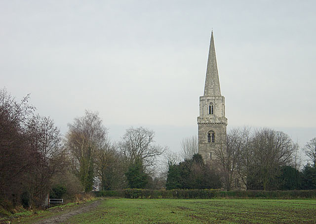 Brayton Church from the west