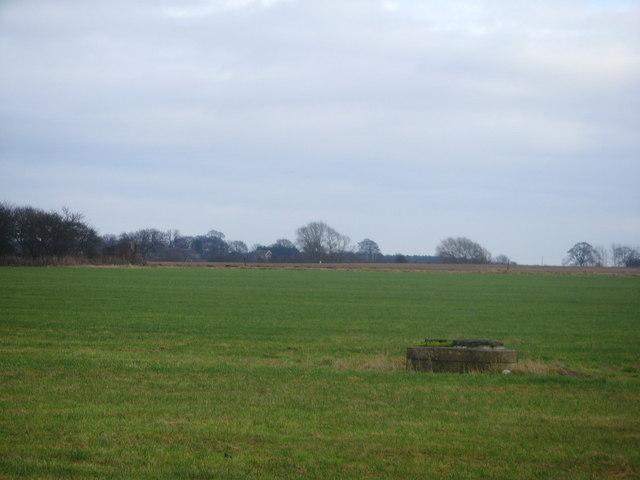 Fields towards Bolas Heath