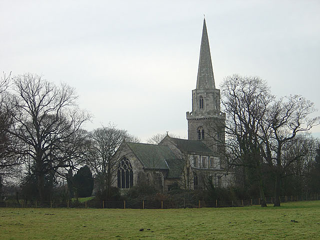 Brayton Church from the north-east