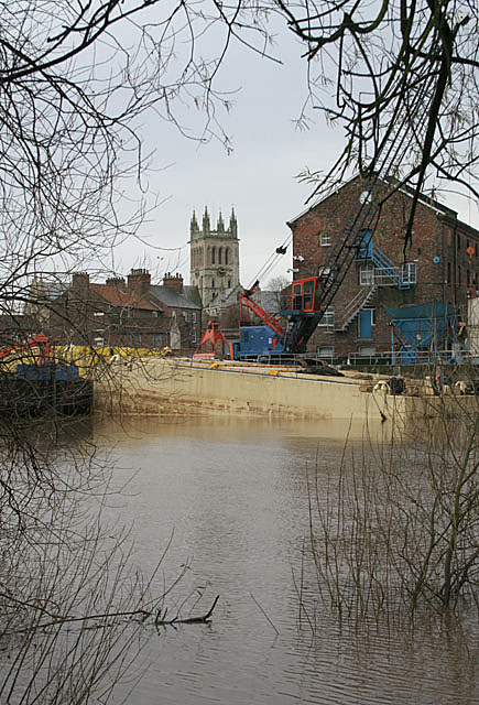 River Ouse at Selby