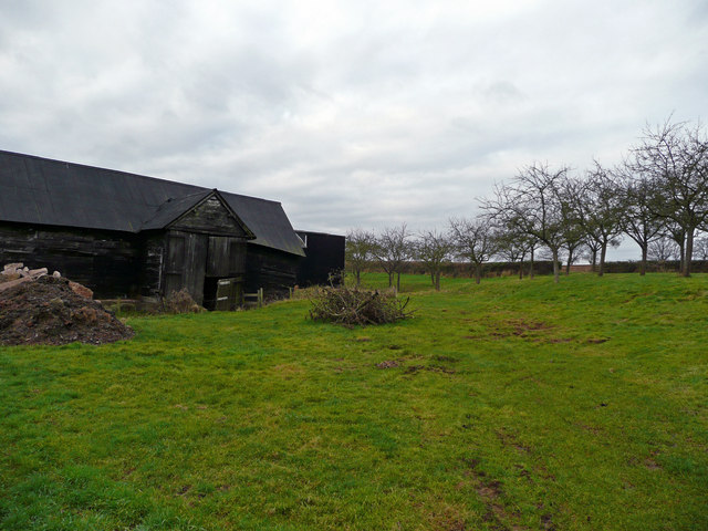 Barn and old orchard