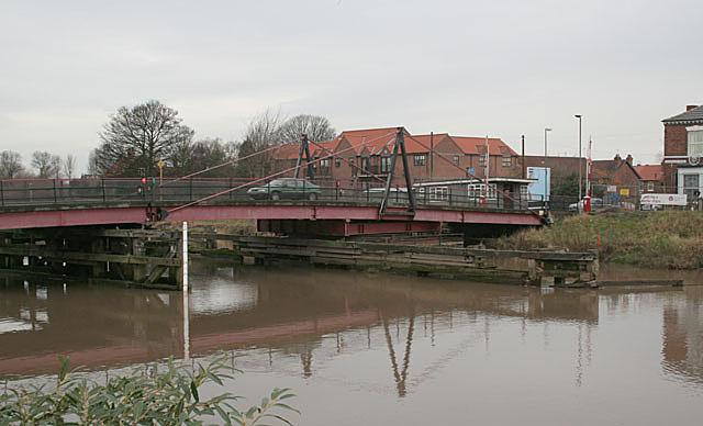 Selby road swing  bridge