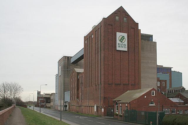 Rank Hovis mills, Barlby, Selby
