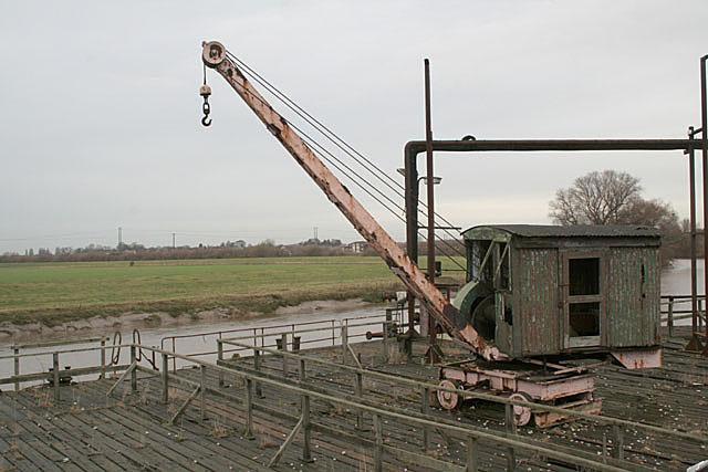 Quayside crane