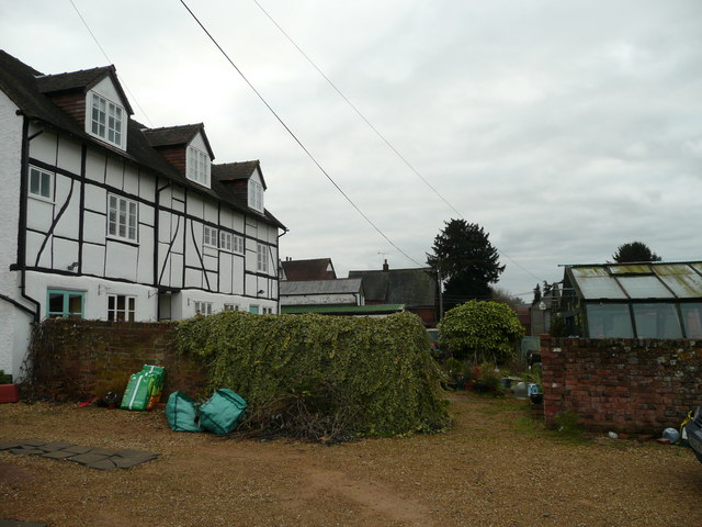 Timber framed house in Ledbury