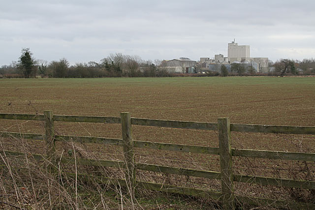 Landscape with Bugbrooke Mill