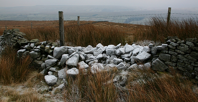 Drystone Wall on Horsehouse Moor