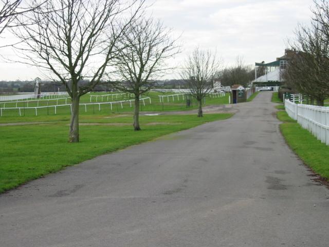 Folkestone racecourse - at Westenhanger