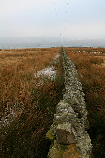 Drystone Wall on Horsehouse Moor (3)