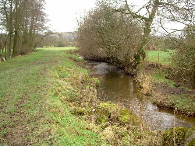River Alyn and Offa's Dyke Path
