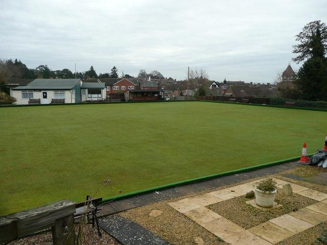 Ledbury Bowling Club Green