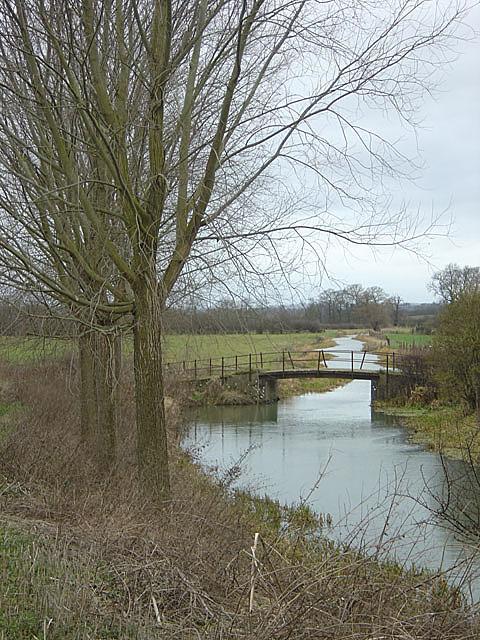 River Nene at Bugbrooke Mill