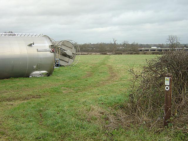 The Nene Way near Bugbrooke Mill